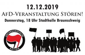 AfD Braunschweig stören