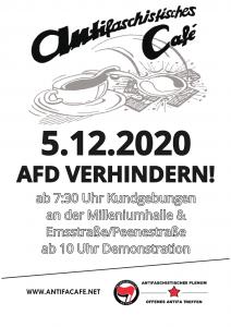 Plakat - AFD Verhindern! Am 05.12.
